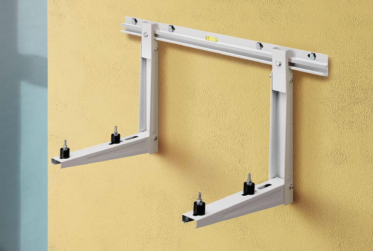 Mensola scorrevole con barra a muro in alluminio zincato rodigas srl
